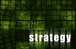Estrategia ilustración del vector
