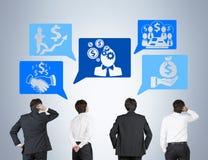 Estrategia de desarrollo de negocios Imagen de archivo