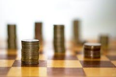Estrategia de las finanzas Imagen de archivo libre de regalías