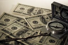 Estrategia de las hojas de operación (planning) de la inversión foto de archivo libre de regalías