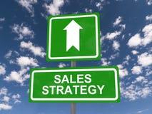 Estrategia de las ventas fotos de archivo libres de regalías