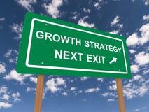 Estrategia del crecimiento Foto de archivo libre de regalías