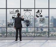 Estrategia empresarial Imagen de archivo