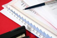 Estrategia empresarial ejecutiva imágenes de archivo libres de regalías