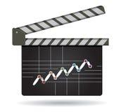 Estrategia empresarial, flujo de succes Foto de archivo