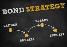 Estrategia en enlace ilustración del vector