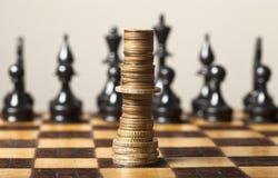 Estrategia financiera Fotografía de archivo libre de regalías