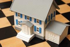 Estrategia inmobiliaria fotos de archivo libres de regalías