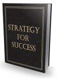 Estrategia para el libro del éxito Foto de archivo libre de regalías