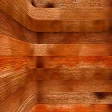 Estratificação de madeira de Brown como um fundo. + EPS8 Fotografia de Stock