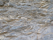 Estratos de la roca Imágenes de archivo libres de regalías