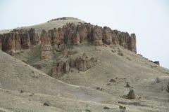 Estratos de la roca de la imagen 2, John Day Fossil Bed, unidad de Clarno, en Oregon central Imagen de archivo libre de regalías