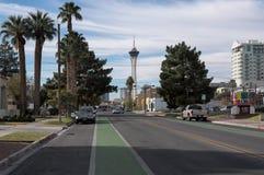 Estratosfera de Las Vegas céntrico, Nevada foto de archivo libre de regalías