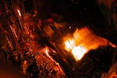Estratto 20 di vetro fuso Fotografia Stock