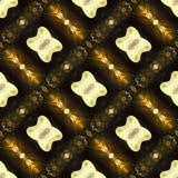 Estratto arancio del modello geometrico Fotografia Stock