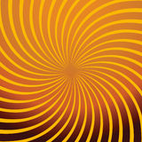 Estratto arancione di rotazione Illustrazione di Stock