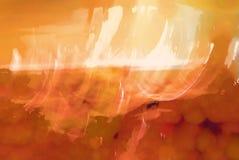 Estratto arancione e bianco Fotografia Stock
