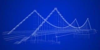 Estratto architettonico illustrazione di stock