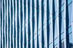 Estratto architettonico, un edificio per uffici moderno fotografia stock