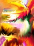 Estratto Arte Pittura grafico Astrazione immagine illustrazione di stock