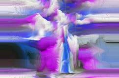Estratto Arte Pittura grafico Astrazione immagine Immagine Stock