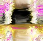 Estratto Arte Pittura grafico Astrazione immagine Fotografia Stock Libera da Diritti