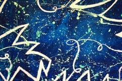 Estratto Arte Pittura grafico Astrazione immagine Clipart, luminoso illustrazione vettoriale