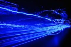 Estratto blu Fotografia Stock