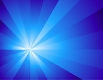 Estratto blu di illuminazione Illustrazione di Stock