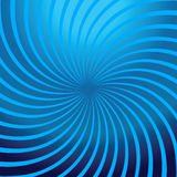 Estratto blu di rotazione Illustrazione Vettoriale