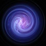 Estratto blu di turbinio Fotografia Stock Libera da Diritti