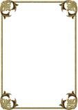 Estratto - bordo illustrazione di stock