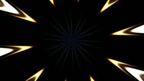 Estratto colorato del metraggio video d archivio