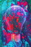 Estratto composto lampadina Immagini Stock
