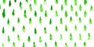 Estratto degli alberi di Natale illustrazione di stock