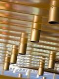 Estratto degli indicatori luminosi di soffitto Fotografia Stock