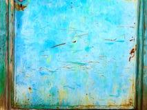 Estratto dei semi, porta Colourful del metallo, Grecia immagini stock