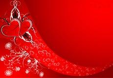 Estratto del biglietto di S. Valentino illustrazione di stock
