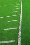 Estratto del campo di football americano Fotografia Stock
