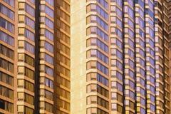 Estratto del centro dell'edificio per uffici Immagini Stock Libere da Diritti