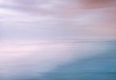 Estratto del cielo dell'oceano Fotografia Stock