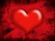 Estratto del cuore Fotografie Stock Libere da Diritti