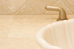 Estratto del dispersore e del rubinetto Fotografia Stock