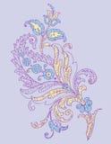 Estratto del fiore Fotografie Stock Libere da Diritti