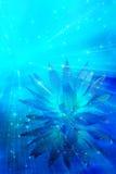 Estratto del fiore di meditazione Fotografia Stock
