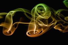 Estratto del fumo Immagini Stock
