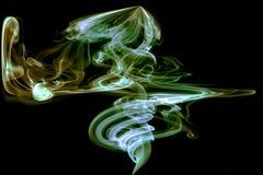 Estratto del fumo immagine stock