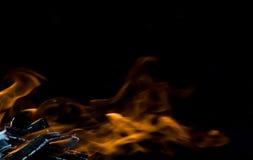 Estratto del fuoco Fotografia Stock
