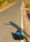 Estratto del Hitchhiker Immagini Stock Libere da Diritti