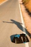 Estratto del Hitchhiker Immagine Stock Libera da Diritti